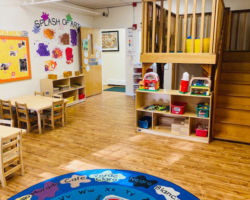 Classroom at Over The Rainbow Early Learning Center