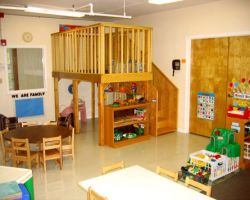 classroom setting in NJ daycare Over The Rainbow
